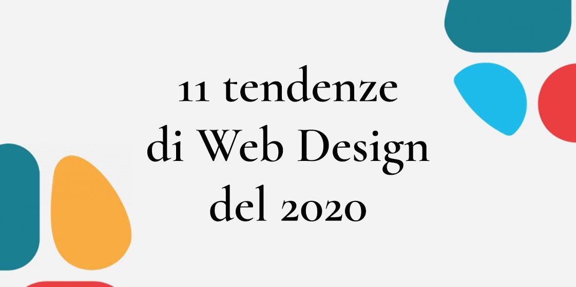 11 tendenze di web design del 2020