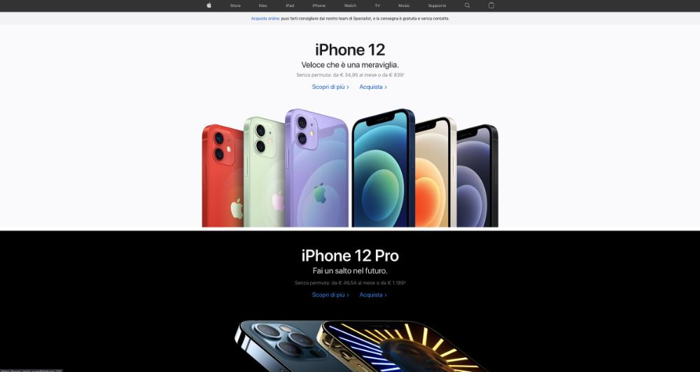 sito web apple