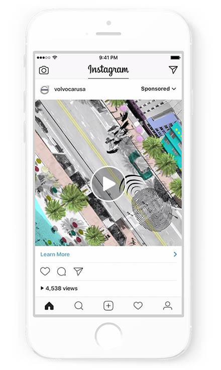 inserzione instagram video