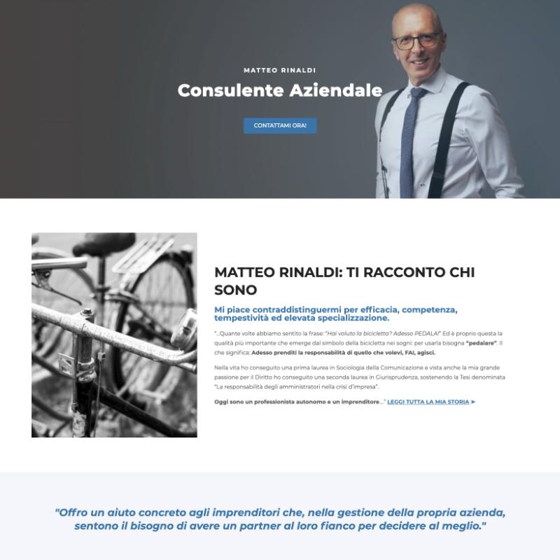 Realizzazione siti web per consulenti aziendali