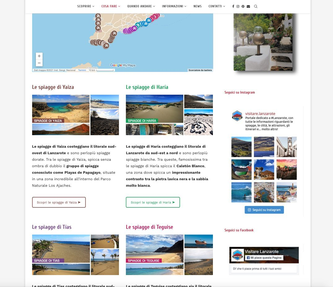 Visitare Lanzarote Screen 2
