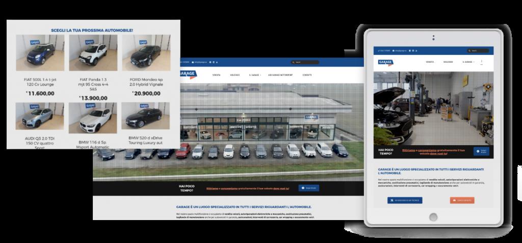 sito web meccanico garage