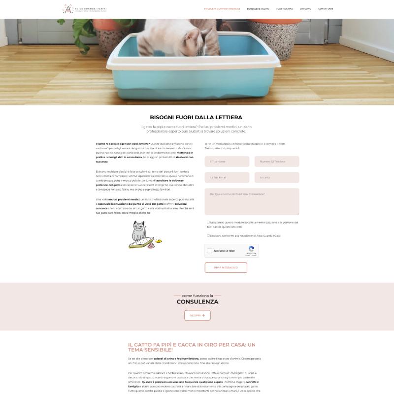 realizzazione sito web veterinario