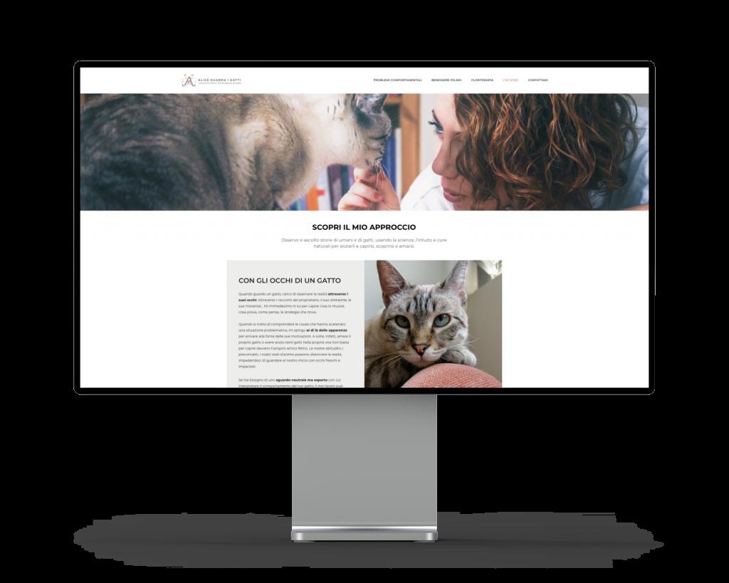 sito web alice catalani consulente felina
