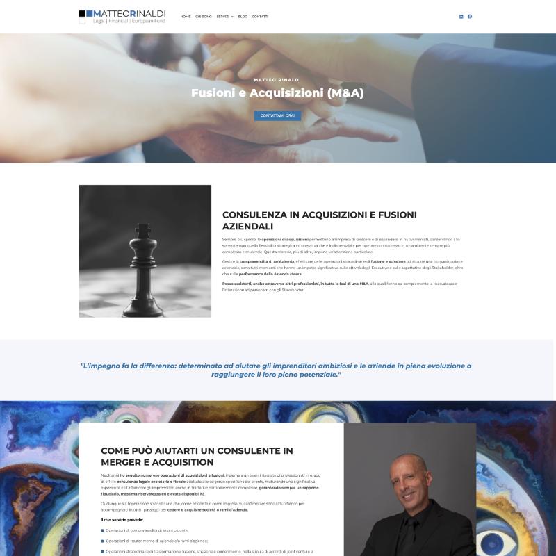 sito web per consulenti