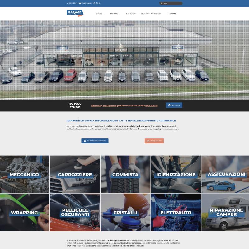 sito web per meccanico