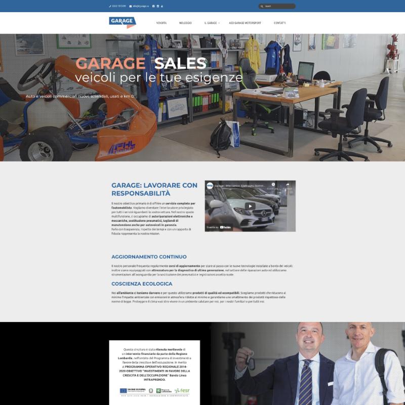 sito web wordpress per meccanico